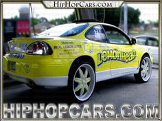 Lemon Head Candy Car