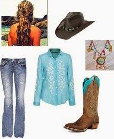 MonStylish - Fashion & Style Blog: Cowgirl Outfit
