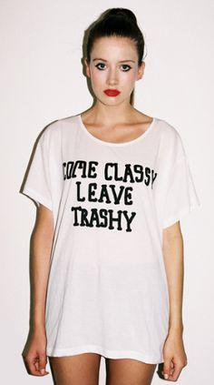 Trashy outfits for women