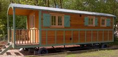 La Grande Roulotte - A large 4 berth fully fitted French Gypsy Caravan