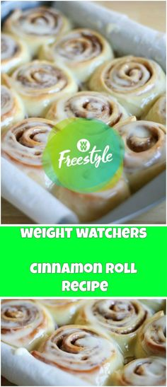 Weight Watchers Cinnamon Roll Recipe | weight watchers cooking