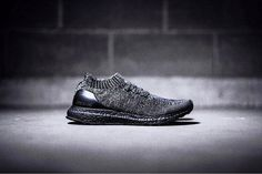 """100% authentic e943f 37074 adidas UltraBOOST Uncaged Wool Primeknit """"Triple Black"""" First Look Adidas  Uncaged, Ultraboost Uncaged"""