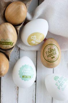 Easy No Dye Easter Eggs | confetti sunshine