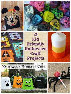 21 kid-friendly Halloween crafts