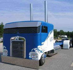 Old Skool Kenworth Cabover