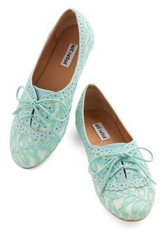 a97fd8165db48e Joined at the Skip Flat in Aqua. Each time you slip into these lacy flats