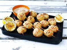 Haukimurekevartaat   Valio Grill Pan, Shrimp, Grilling, Muffin, Fish, Meat, Breakfast, Griddle Pan, Morning Coffee