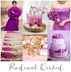 Color Inspiration | Radiant Orchid Wedding - Aisle Perfect