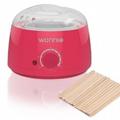 WONNIE Wax Warmer Hair Removal Home Waxing Kit Electric Pot Heater for Rapid Waxing of All Body, Face, Bikini Area, Legs with 3 Flavor Hard Wax Beans & 20 Wax Applicator Spatulas (Pink) Home Waxing Kit, Electric Wax Warmer, Hard Wax Beans, Wax Hair Removal, Wax Warmers, Hair Wax, Hair Care Tips, Cool Hairstyles, Coloring Books