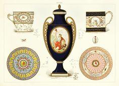 Sevres porcelain illustration