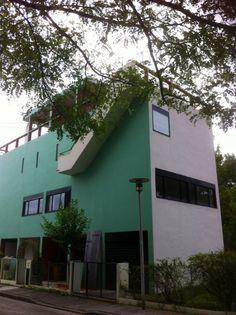 La Cite Fruges Le Corbusier Le Corbusier, Steak Tartare, Aquitaine, Facade, Exterior, France, World, Outdoor Decor, Buildings