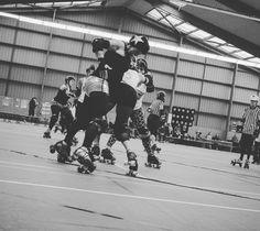 BigWestChamps Roller Derby - credit photo Rousse Carnage #roller #rollerderby #derbies #derby #misstfeet #rollerskate #rollergirl #roussecarnage #derbygirl #skatepark #skatinggirl #skating #FreshMeatDerbyGirl #alternative #alternativegirl #rollerdebychamps