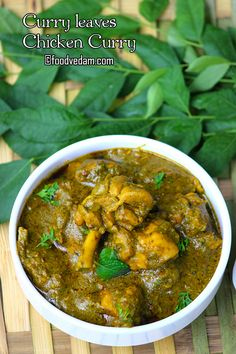 Curry leaf chicken curry -how to prepare Karivepaku kodi kura Fried Fish Recipes, Veg Recipes, Curry Recipes, Vegetarian Recipes, Cooking Recipes, Recipies, Cooking Tips, Cilantro Recipes, Indian Chicken Recipes