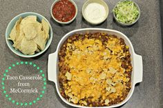 Taco Casserole - Organize and Decorate Everything