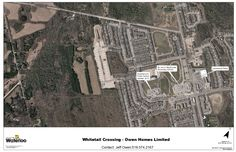 White Tail Crossing: Subdivision layout in Waterloo, ON