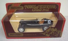 1935 E.R.A.'R.1.B Race Car 1/38 Scale Diecast Models of Yesteryear Matchbox by Matchbox. $13.99. Tan Interior. #7. 1:38 Scale Diecast. Black. Matchbox Models of Yesteryear Y-14 1935 E.R.A. 1.B. Race Car. 1935 E.R.A. 'R.1.B' Race Car. 1/38 Scale Diecast ,Made by Matchbox. Part of the Models of Yesteryear Collection. Brand New in Box. Marked y-14