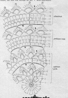Picasa Web Albums - crochet pillows pattern diagram.