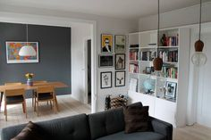 "Apartment in Frederiksberg, Denmark. Ideal apartment for couples and families with small kids on Frederiksberg, Copenhagen. The apartment has a 'new nordic' style and is equipped with a 47"" flatscreen TV & Wi-Fi  The S-train, busses and city-bikes are all just outside the building.  ..."