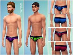 Mod The Sims - Underwear Sexy Collection Two