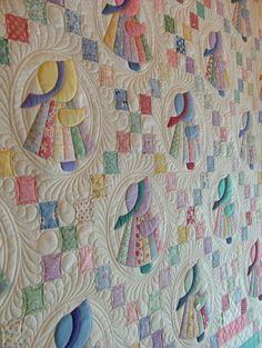 The quilting so perfectly sets off the design!