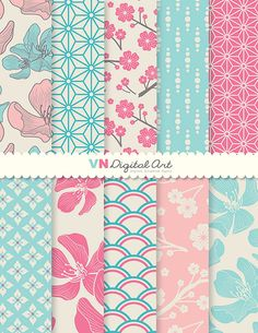 Hey, I found this really awesome Etsy listing at https://www.etsy.com/listing/156807097/digital-paper-blossom-digital-paper-pack