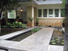 From whimsical fountains to quiet pools, check out these great garden water features on HGTV.com.