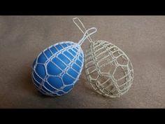 Jak zrobić pisankę 3D wzór 2 - Szydełko - YouTube Easter Crafts, Christmas Crafts, Easter Crochet, Crochet Projects, Crochet Earrings, Handmade, Diy, Pillows, Easter