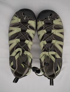 f2162dd2d27d Women s KEEN WHISPER Sandals Water Hiking Shoes Light Green and Gray   fashion  clothing