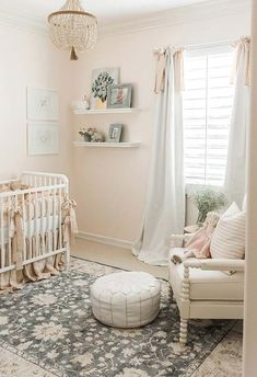 Air Collection The most luxurious nursery ideas to decor your baby's room. Visit and get inspired by some kids bedroom ideas.The most luxurious nursery ideas to decor your baby's room. Visit and get inspired by some kids bedroom ideas. Baby Bedroom, Girls Bedroom, Nursery Curtains Girl, Bedroom Ideas, Baby Girl Nursery Bedding, Bedrooms, Elephant Nursery, Baby Rooms, Bedroom Decor