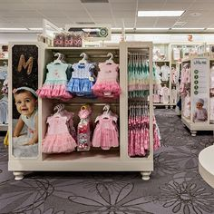 Little Me - Artitalia Group Inc Kids Store Display, Store Window Displays, Clothing Store Design, Exhibition Booth Design, Kids Boutique, Little My, Baby Shop, Kids Shop, Veronica