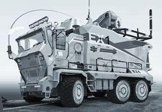 EOD Concept Truck.