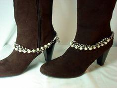 SALE..Boot Bracelets. Eco Friendly No 3 by BeadazzledBySharon, $50.00
