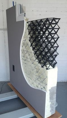 This Architect-Designed Wall System Has a 3D-Printed Core   Architect Magazine   Technology #industrialdesign
