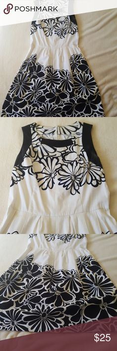 Fit and flare dress size small Like new condition. Size small. From Italy. Wore only once. biancoghiaccio Dresses Midi