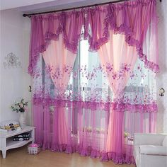 $12.39 pink curtains for home decor from zzkko.com