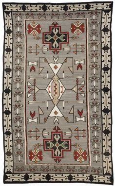 The Foutz Collection-- Teec Nos Pos Textile c. 1920