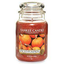 Spiced Pumpkin Yankee Candle