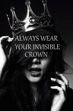 For Alexis- I always do!  And sometimes my visible one too!  ;)  Always wear your invisible crown too!