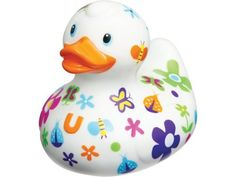 Bud Rubber Luxury Duck Bath Tub Toy, Pretty by BUD