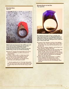 DnD 5e Homebrew — Remarkable Rings by Moonpenny