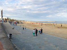 Bogatell Beach - Barcelona, Spain