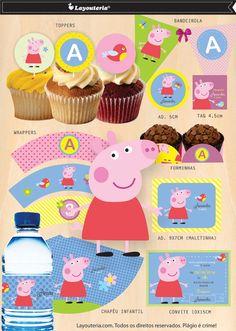 Peppa Pig Festa PDF   Layouteria   Elo7