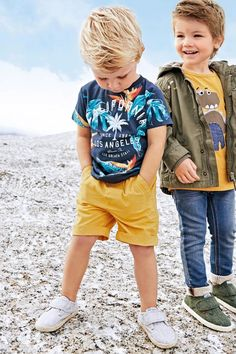 Toddler Boys Clothing Sets High Quality T-Shirt With Short Pants – Kidenhouse