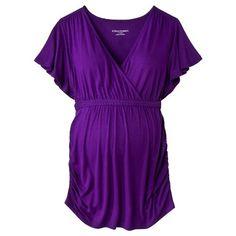 Target : Liz Lange® for Target® Maternity V-Neck Fashion Top