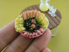 Food Miniatures by Shay Aaron #nonedible