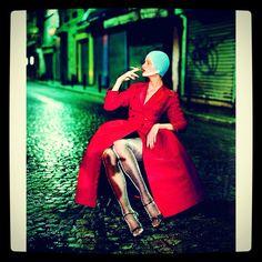 Kristen McMenamy by Paolo Roversi-1994.