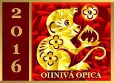 čínsky horoskop - ohnivá opica 2016