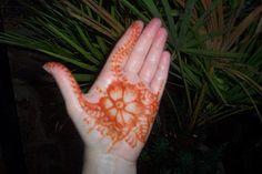 Henna stain.
