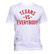Men's Houston Texans vs Everybody Tee