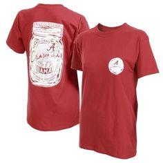 Alabama Crimson Tide Women's Mason Jar Unisex T-Shirt – Crimson $20 Large